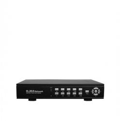 Lion-Vision AHD 8 Port DVR Machine - Noir