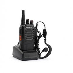 Talkie Walki 2-BF-888S UHF 400-470 MHz - Gris