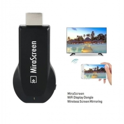 Mira Screen Adaptateur D'affichage WI-FI MiraScreen HDMI TV Stick Écran Miroir - Noir