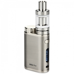 Kit Istick Pico 75W + Accu - Brushed Silver