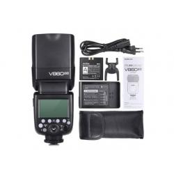 Godox Kit flash cobra E-TTL V860II-C pour boitier Canon