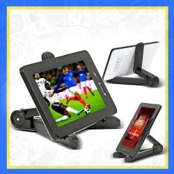 Support Universel Téléphone Et Tablette Tactile - Trépied - Noir ou blanc