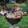 Barbecue à Charbon Rond, BBQ Mobile Barbecue Grill Portable - ( 46 ×44 ×70 cm)