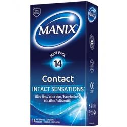 PRESERVATIF MANIX CONTACT - BOITE DE 14