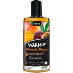 Huile chauffante comestible saveur Mangue Passion - 150 ml