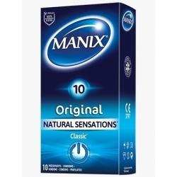 PRESERVATIF MANIX ORIGINAL NATURAL SENSATIONS - BOITE DE 14