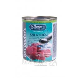 DR.CLAUDER'S Selected Meat Kalb&Gemüse - viande de veau et légumes sélectionnées - 800 g