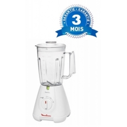 MOULINEX MIXEUR BLENDER MUTIFONCTIONS - 400 W - BLANC