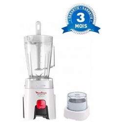 MIXEUR MOULINEX GENUINE BLENDER BLANC 450W