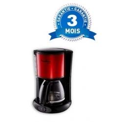 CAFETIERE ELECTRIQUE MOULINEX SUBITO - 1000W- 15 TASSES - 1,25L ROUGE