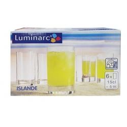 VERRE LUMINARC ISLANDE -15 CL - SET DE 6 PCS