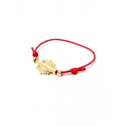 Bracelet Classique coton ciré poids POKOU de chez NAKA
