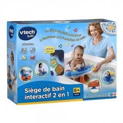 SIEGE DE BAIN INTERACTIF 2 EN 1 - pour bébé