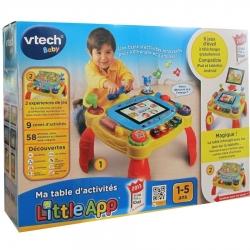 VTECH MA TABLE D'ACTIVITE LITTLE APP 1-5ANS CA2 REF 80-146505