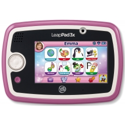 TABLETTE EDUCATIVE LEAPPAD 3X 15 APPLICATIONS FILLE ROSE 3-9 ANS CA2 REF 81500-31203