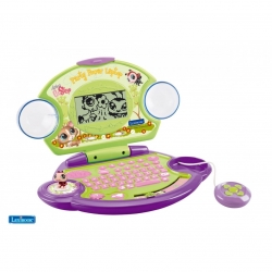 ORDINATEUR EDUCATIF LITTLEST PET SHOP 80 ACTIVITES CA6 REF JC270LPSI10104