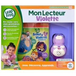 MON LECTEUR VIOLETTE FILLE +12 MOIS CA2 REF 81415-31203