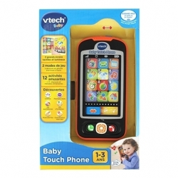 VTECH BABY TOUCH PHONE 1-3 ANS CA6 REF 80-146105