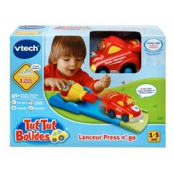 VTECH LANCEUR PRESS N'GO TUT TUT BOLIDES 1-5 ANS CA6 REF 80-144005