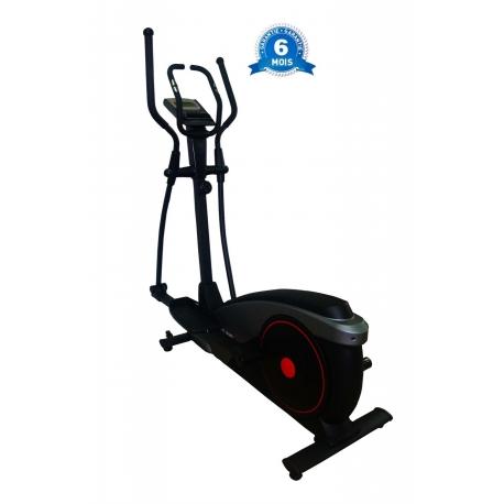 Velo elliptique 120kg max couleur noir fitland afrikdiscount - Velo elliptique discount ...