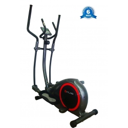 VELO ELLIPTIQUE FITLAND CROSS-TRAINER 120KGS MAX COULEUR GRIS/ROUGE