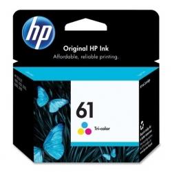 Cartouche d'encre HP - 61 - Couleur (Bleu, Rose et jaune)