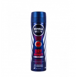 NIVEA MEN DEODORANT SPRAY 150 ML DRY IMPACT