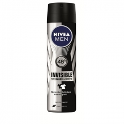 NIVEA MEN DEODORANT SPRAY 150 ML BLACK AND WHITE