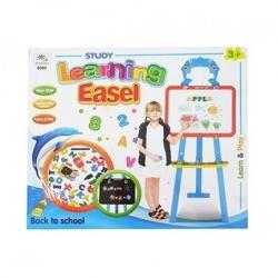 TABLEAU EDUCATIF + ACCESSOIRES LEARNING EASEL ART 8005
