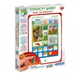 TABLETTE EDUCATIVE LES ANIMAUX TOUCH PAD