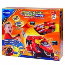 VOITURE TRANSFORMABLE SWITCH AND GO DINOS 3 - 9 ans