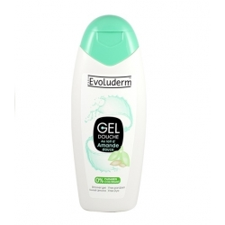 EVOLUDERM GEL DOUCHE 400 ML AU LAIT D'AMENDE DOUCE