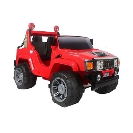 Hummer Force Voiture Rouge Electrique Land rWBoedCQx