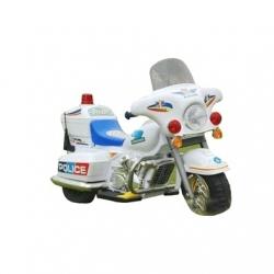 MOTO ELECTRIQUE POLICE BLANCHE