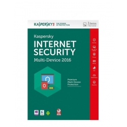 KASPERSKY 2016 Internet Security- 2 Postes- Français - Valable 1 an