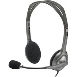 Casque Audio Logitech - H110 - Gris
