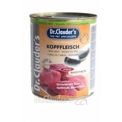 DR.CLAUDER'S Selected Meat Kopffleisch - viande de la tete sélectionnée - 800G
