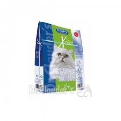 DR CLAUDER'S Katzenstreu X-Line Blanc - Litière pour chat k-line - 12 L