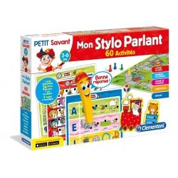MON STYLO PARLANT ALPHABET - CLEMENTONI - 60 ACTIVITES EDUCATIVES - 6,00 x 41,80 x 27,80 CM