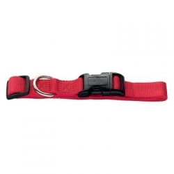 Collier HUNTER - Taille S tour de cou 30-45 cm x l 1,5 cm - rouge