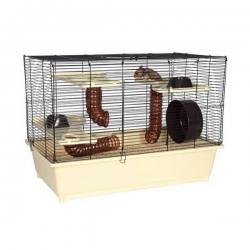 Cage + équipements pour Hamster Grande