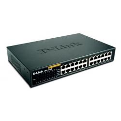 Switch - 24 Ports - DES 1024A - DLINK - 100 à 240 Volt - Noir