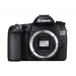 Appareil photo Numérique CANON - EOS 70D - 20 Mégapixels - Noir
