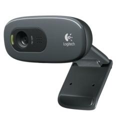 WebCam HD - LOGITECH - 3 Mpixel - Avec Micro Intégré - C270 - Noir