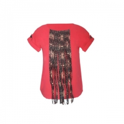 YALERRI - Blouse NIRY 14 - Taille 36 - Corail