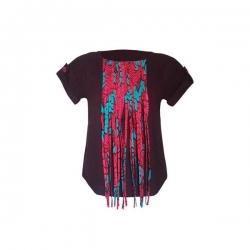 YALERRI - Blouse NIRY 14 - Taille 36 - Rouge bordeau