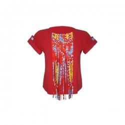 YALERRI - Blouse NIRY 14 - Taille 36 - Rouge