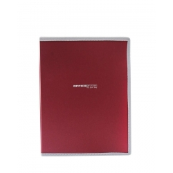 Lot de 5 Porte-Documents Pad Folio A4 - Rouge