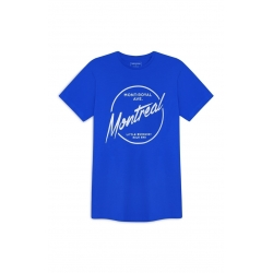 T-SHIRT CEDAR WOOD STATE MONT ROYAL AVE -TAILLE L- DARK BLUE