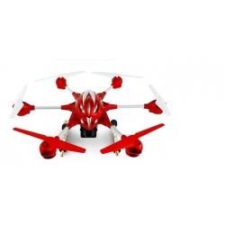 DRONE RADIOCOMMANDE ROUGE PATHFINDER AVEC CAMERA +WIFI - ART W609-8 - CA4 -27,25 X 27,25 X7,5 Pouces - ROUGE - REF MKF920469
